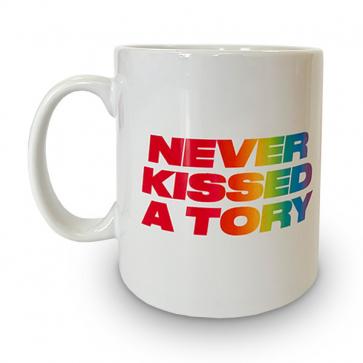 Never Kissed a Tory Mug