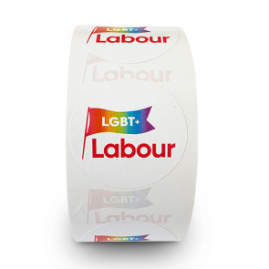 LGBT+ Labour Stickers - 250